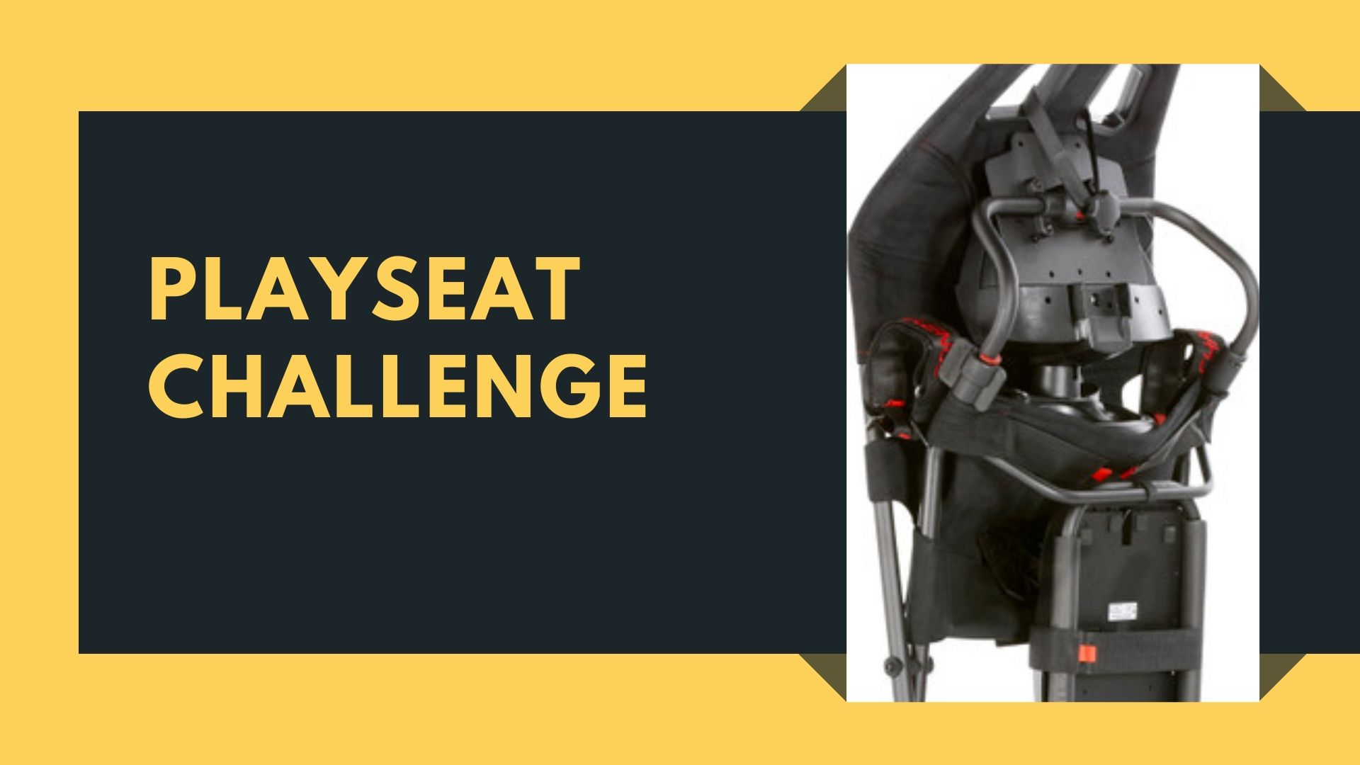 Playseat Challenge gamestoel voor gamers